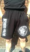 GG / 501st  Shorts schwarz/weiß FOTL
